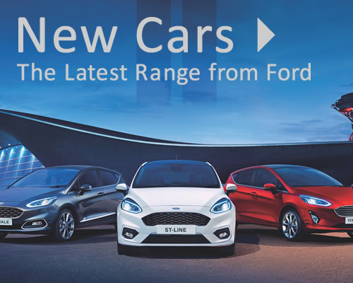 New Ford Cars For Sale in West Wickham, Kent near Croydon, Bromley and Orpington South East London inside the M25