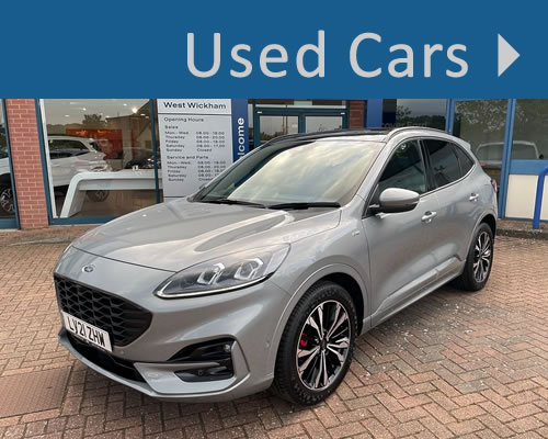 Used Cars For Sale in West Wickham, Kent near Croydon, Bromley and Orpington South East London inside the M25